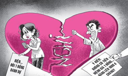 Đại gia ngoại quốc 'đòi quà' người tình và những vụ kiện hy hữu