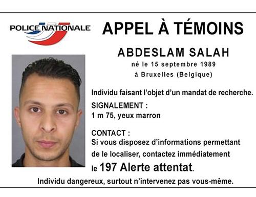 7 kẻ tấn công khủng bố Paris 2