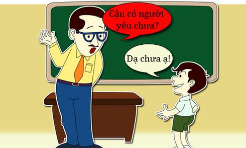 Khi thầy giáo cho chép phạt