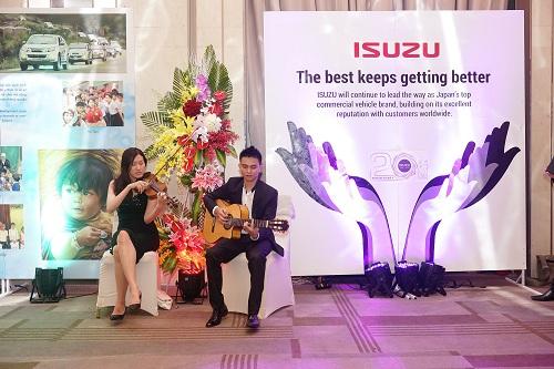 Isuzu Việt Nam kỷ niệm 20 năm thành lập 3