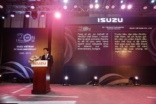 Isuzu Việt Nam kỷ niệm 20 năm thành lập 4