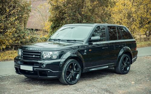Range Rover Sport đặc biệt của David Beckham 1