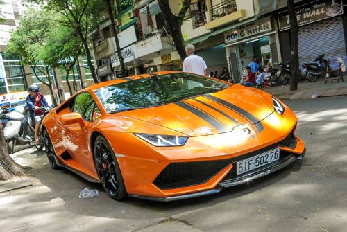 """Lamborghini Huracan độ hàng """"độc"""" ở Việt Nam 1"""