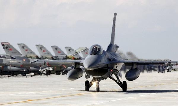Chiến đấu cơ F-16. Ảnh: Reuters