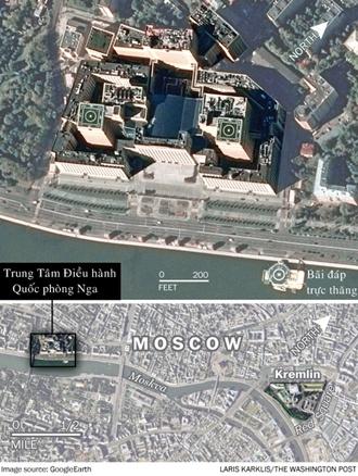 Bên trong tổng hành dinh diệt IS của Nga 3