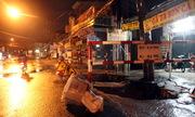 'Hố tử thần' 6 m2 xuất hiện trong mưa ở trung tâm Đồng Nai