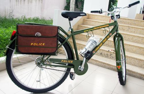 Công an Khánh Hòa tuần tra bằng xe đạp 2