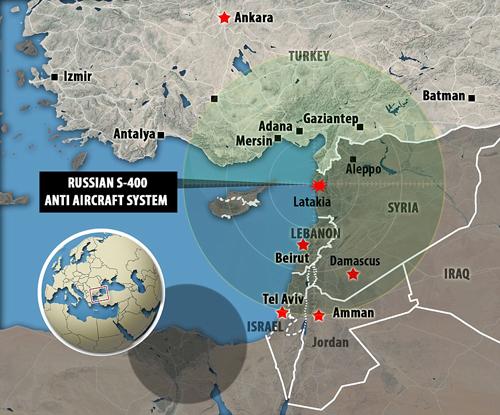 Tên lửa S-400 Nga khiến F-16 Thổ Nhĩ Kỳ án binh bất động 2