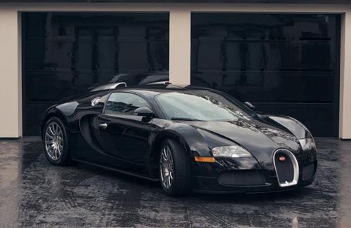 10 siêu xe Bugatti Veyron đắt nhất của sao