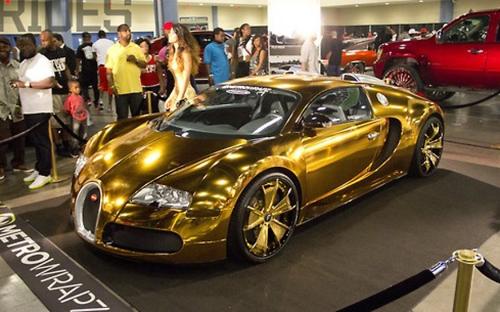 10 siêu xe Bugatti Veyron đắt nhất của người nổi tiếng 3