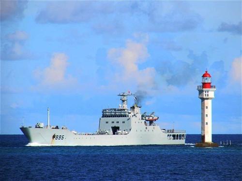 Vạn Dương Sơn - chiến hạm Trung Quốc uy hiếp tàu Việt Nam 1