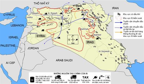 IS bôi trơn đế chế dầu mỏ lậu như thế nào 2
