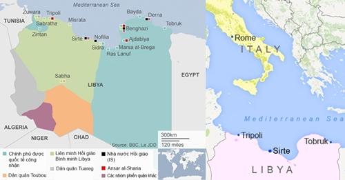IS kiểm soát cửa ngõ vựa dầu Libya, lăm le đưa cuộc chiến tới Rome 2
