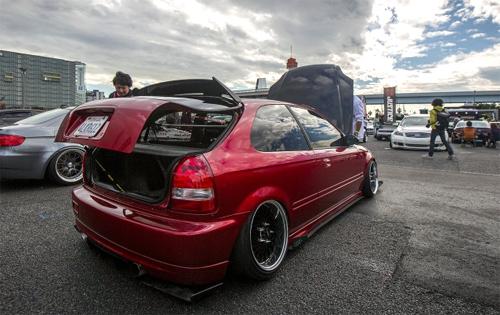 Honda Civic độ phong cách Mỹ 6