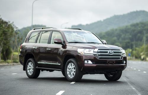 Toyota Land Cruiser 2015 có giá 2,8 tỷ tại Việt Nam 1