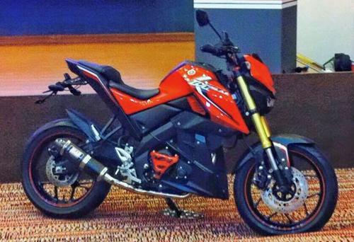 Yamaha M-Slaz - nakedbike 150 phân khối giá 2.500 USD 1