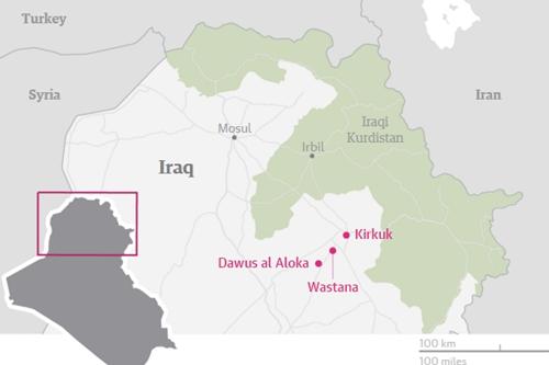 Đặc nhiệm Mỹ bị nghi bí mật chiến đấu chống IS nhiều tháng 2