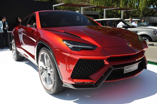 Lamborghini Urus - siêu SUV dùng động cơ V8 1