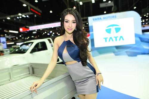 Dàn mẫu nóng bỏng tại triển lãm Thái Lan 10