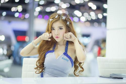 Dàn mẫu nóng bỏng tại triển lãm Thái Lan 5