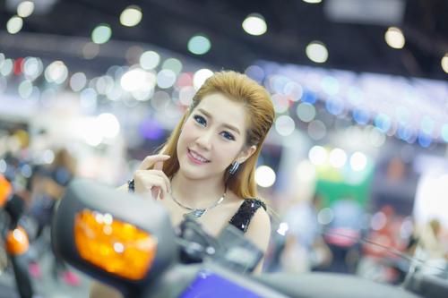 Dàn mẫu nóng bỏng tại triển lãm Thái Lan 8
