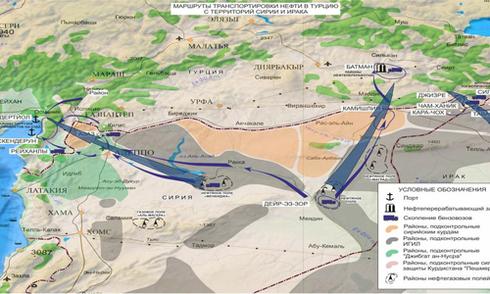 Nga trưng bằng chứng Tổng thống Thổ Nhĩ Kỳ buôn dầu với IS