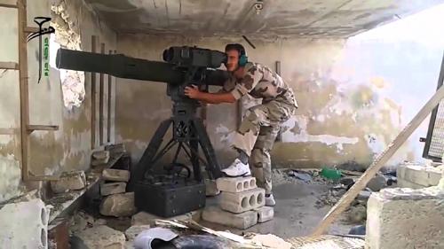 Tăng T-90MS - khắc tinh của tên lửa TOW trên chiến trường Syria 2