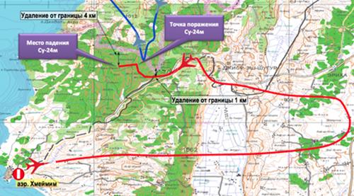 Những dữ liệu gây ngờ vực trong vụ bắn hạ Su-24 Nga 3