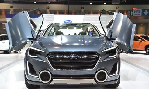 Subaru Viziv 2 Concept chào Đông Nam Á