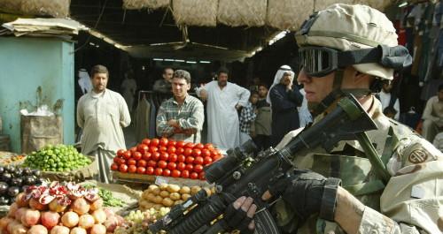 Thuyết âm mưu về quân đội Mỹ tại Trung Đông 1