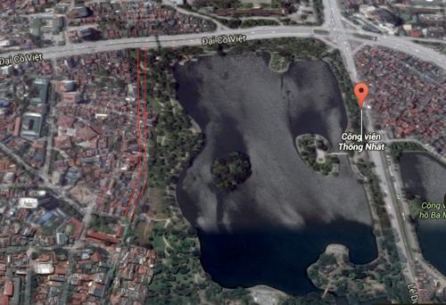 Hà Nội chặt, chuyển 40 cây xanh trong công viên Thống Nhất 1