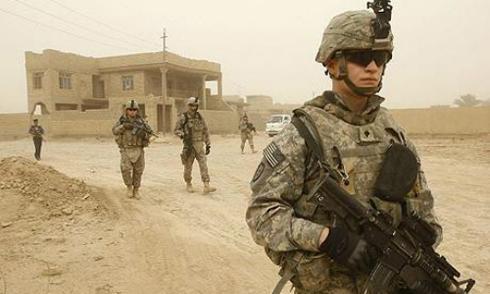 Thuyết âm mưu về quân đội Mỹ tại Trung Đông