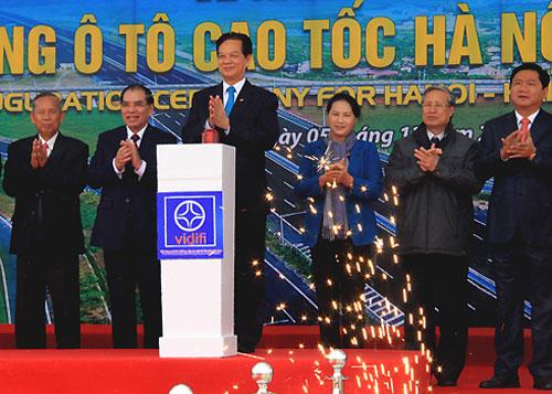 Thông xe toàn tuyến cao tốc 2 tỷ USD Hà Nội - Hải Phòng 1