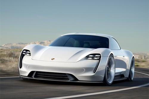 Porsche có thể sản xuất sedan chạy điện 1