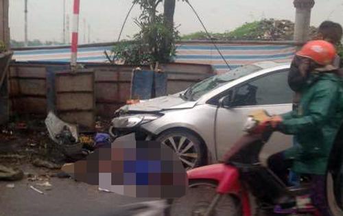 Hai nữ lao công bị ôtô 4 chỗ tông tử vong 1
