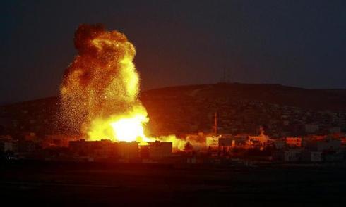 Liên quân Mỹ dẫn đầu diệt ít nhất 32 phiến quân IS ở Syria