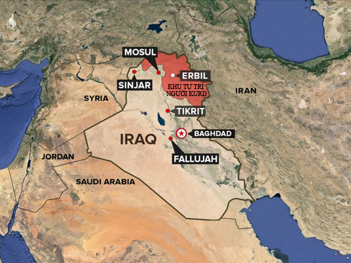 Lực lượng tiền tuyến được ví như mũi giáo thọc sườn IS 2
