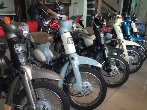 Honda Cub 50 bản đặc biệt có mặt tại Việt Nam 2