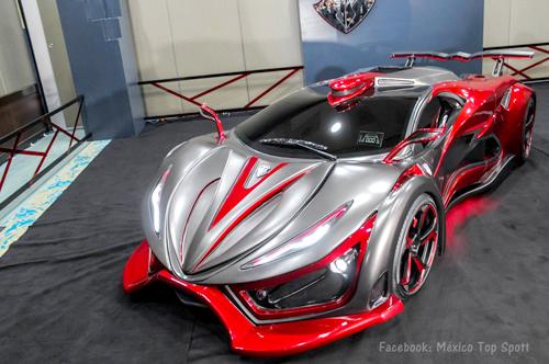 Inferno - siêu xe kỳ quặc 1.400 mã lực 1