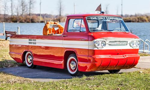 Chevrolet Corphibian - ôtô cắm trại trên mặt nước 1