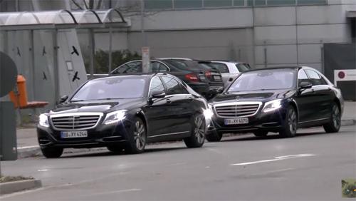 Mercedes S-class 2016 lộ diện trên đường thử 1