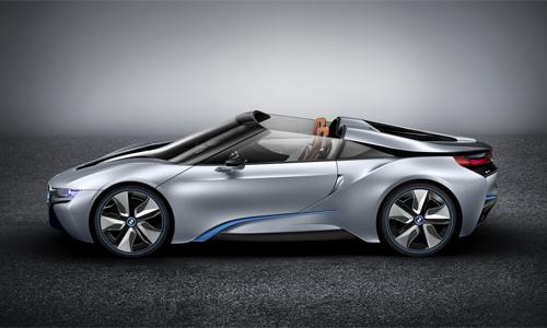 BMW ra mắt i8 Spyder concept mới 1