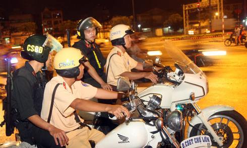 Quyền hạn mới được bổ sung của cảnh sát cơ động?