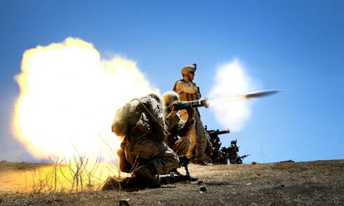 Lực lượng tiền tuyến được ví như mũi giáo thọc sườn IS
