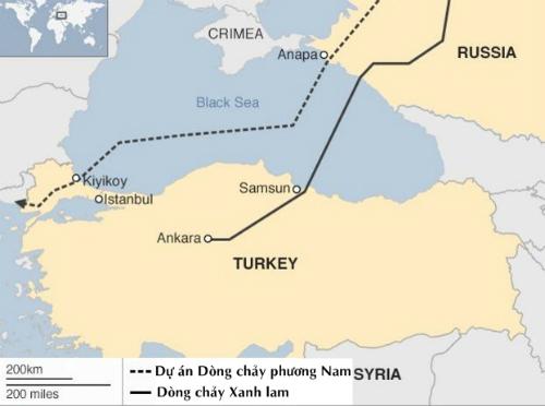 Thổ Nhĩ Kỳ chật vật tìm cách thoát gọng kìm khí đốt Nga 2
