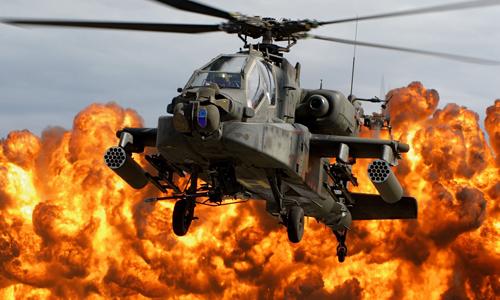 Trực thăng Apache, ác mộng của IS trên chiến trường đô thị 1