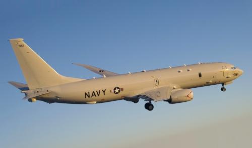 Máy bay P-8 của hải quân Mỹ. Ảnh: Wikipedia