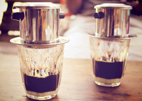 gu thưởng thức cà phê của người Việt