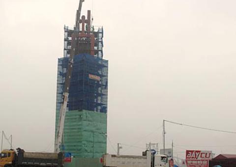 """Formosa xây """"tháp biểu tượng tinh thần"""" không phép 1"""