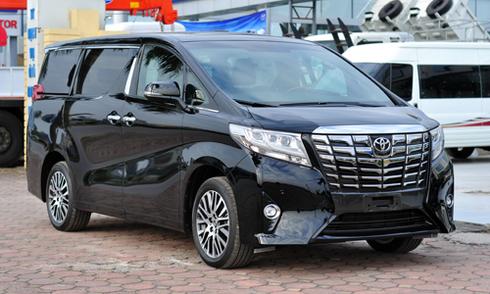 'Chuyên cơ mặt đất' Toyota Alphard 2016 về Việt Nam